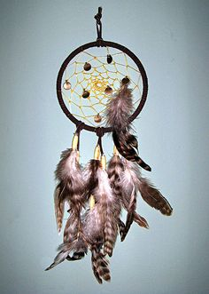 Dreamcatcher - Brown 01 by sayingwolf, via Flickr
