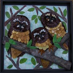 """Three Amigos"" by Susan Turlington Mosaics, via Flickr"
