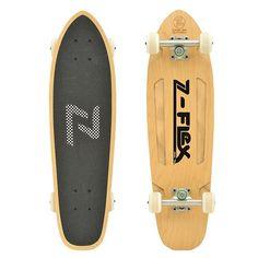 """Z-Flex Z-Bullet Brown - 27.5"""" Cruiser   Z-Flex Skateboards"""