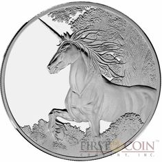 Tokelau Unicorn $5 Creatures of Myth & Legend Silver Coin Year of the Horse Proof 1 oz 2014 Coin Art, Year Of The Horse, Proof Coins, Silver Bars, Magical Creatures, Holiday Sales, 1 Oz, Silver Coins, Unicorn