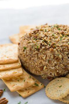 Vegan Party Cheeseball