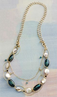 Excited about the Great Gatsby release? Make vintage inspired beaded jewelry you can wear every day!