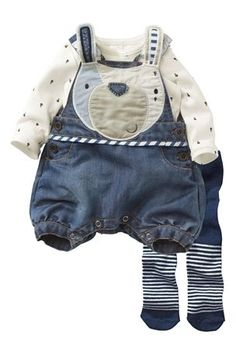Bunny Playsuit And Tights Set (0-18mths) from the Next UK online shop