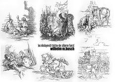 illustrations WILHELM M.BUSCH created in 1941 for the LEO NIKOLAYEVICH TOLSTOY novel – DER SILBERNE FUERST (knjaz sserebrjanyi).    LAYOUT AND COMPOSITION WOW!