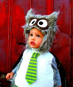 Toddler Halloween Costume Owl
