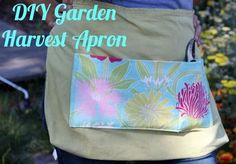 Easy Homesteading: DIY Garden Harvest Apron
