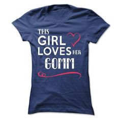 I Love This girl loves her GOMM T shirts