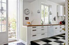 piso ajedrez cocina - Buscar con Google