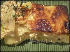 Gâteau de pommes de terre façon gratin dauphinois WW