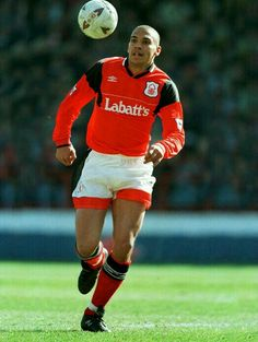 Stan Collymore of Nottingham Forest in 1994.