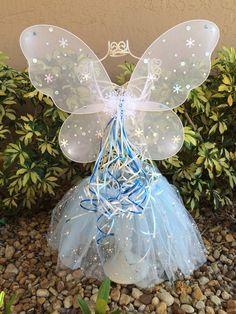 Elsa Frozen Blue Tutu Dress Frozen Wings Elsa by partiesandfun, $22.00.check out  www.partiesandfun.etsy.com for more ideas