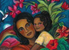"""""""Cariño Maternal"""" by Irene Carranza."""