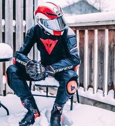 A collection of Guys In Sport Biker Leathers Sexy Biker Men, Biker Boys, Motorcycle Wear, Motorcycle Leather, Bike Leathers, Biker Gear, Bike Style, Motorbikes, Leather Men