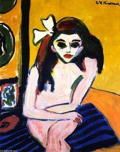 Marzella - (Ernst Ludwig Kirchner)