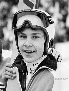 Matti Nykanen -the Finn who re-wrote most of the ski jumping records in his day. Ski Jumping, Winter Sports, Finland, Olympics, Skiing, Jumper, Athlete, Legends, Motivational