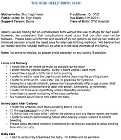 Natural Birth Plan Template Luxury This Was My Plan with Both Boys and I M so Glad I Stuck to The Plan, How To Plan, Birth Plan Sample, Pregnancy Labor, Pregnancy Guide, Hospital Birth, Getting Ready For Baby, Baby On The Way, Baby Birth