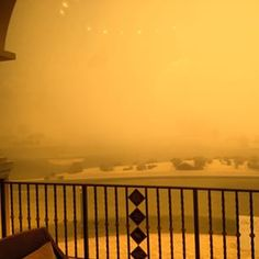 Sandstorm in Dubai earlier, golf courses were closed down for a while #dubai #abudhabi #golf #uaegolf #uae #emirates #golfer #golfing #mydubai #socialgolf #sun #happy #like #smile #instagood #instagolf #love #tagsforlikes #follow #iphone #photooftheday #m