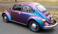 Slug Bug iridescent purple! *punches you in shoulder*  -ajs