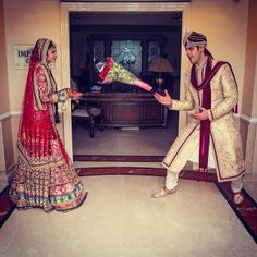 Haha fun loving couple.!