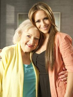 "Jennifer Love Hewitt and Betty White on ""The Client List"" #Friends"