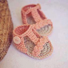 Sandalias de bebés para ir monísima.