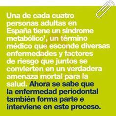 Síndrome metabólico y #Periodontitis