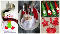 DIY 20 ideas de Manualidades Navideñas con fieltro para decorar tu hogar