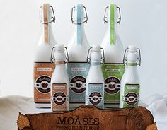 """Check out this @Behance project: """"Moasis: Probiotic Nut Milk"""" https://www.behance.net/gallery/19098043/Moasis-Probiotic-Nut-Milk"""