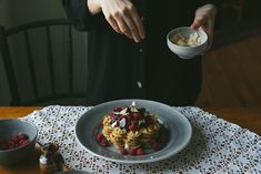 Gluten free waffles by Babes in Boyland / Wholesome Foodie <3