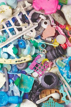Electrolux Marine debris from the Pacific Ocean