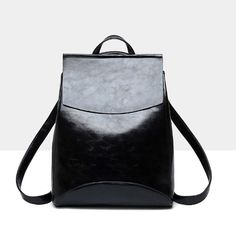 d22f4cd22649c New Fashion Women Backpack High Quality Youth Leather Backpacks for Teenage  Girls Female School Shoulder Bag Bagpack mochila 301