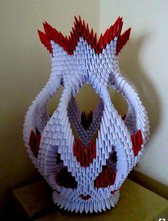 Bildergebnis für 3 d origami Origami Modular, Instruções Origami, Origami And Quilling, Kids Origami, Origami And Kirigami, 3d Quilling, Useful Origami, Origami Design, Origami Ideas