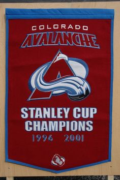 Colorado Avalanche Hockey Stanley Cup Champions