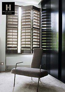 Kelly Hoppen's Unique Range of Bespoke Shutters - UK Home Ideas Indoor Shutters, Wooden Shutters, Shutter Designs, Kelly Hoppen, Uk Homes, Wood Windows, Interior Decorating, Interior Design, Architecture