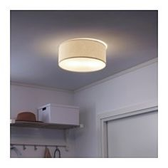 SOLLEFTEÅ Ceiling lamp, white | Ceilings, Lights and Bedrooms