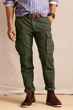 2017 Fashion Men Pants cotton Comfortable trend Cargo Pants for ...