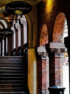 Kirkeristen, arches at the bazaar. Beautiful Norway, Berg, Oslo, Arches, Explore, History, Norway, Historia, Exploring