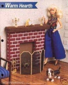 Plastic Canvas Barbie Fashion Doll Pattern