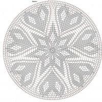 Only Crochet Patterns Archives – Beautiful Crochet Patterns and Knitting Patterns – mahimah nemati - Crochet Filet Crochet, Mandala Au Crochet, Crochet Doily Diagram, Tapestry Crochet Patterns, Crochet Circles, Crochet Stitches Patterns, Crochet Round, Thread Crochet, Crochet Motif
