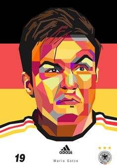 Mario Goetze FIFA World Cup 2014 | The German Strike on Behance