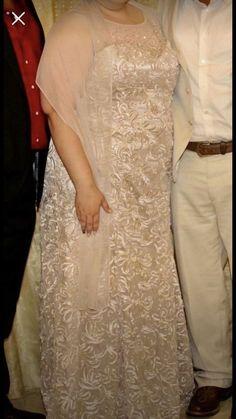 f98072b0fbda2 Davids Bridal Gold Gown (Worn Once) Size 22W #fashion #clothing #shoes