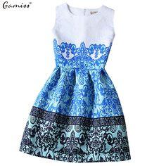 Gamiss 2016 New Women Summer Casual Dress Vintage Sexy Party Vestidos Ladies Vestido De Festa Women Dresses Maxi Boho Clothing