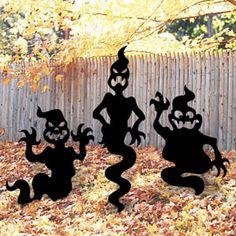 Halloween Yard Displays - Doug's Woodcrafts & Patterns