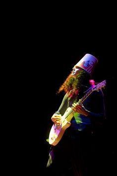 Buckethead-i hope he washed that bucket out before he put it on his head because it would suck to get chicken grease in your hair.