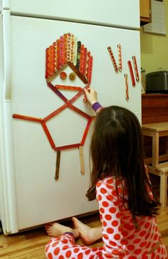 DIY Painted Magnet Sticks for Creativity and Play - The Artful Parent