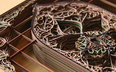 Intricately Cut Paper Sculptures Mimic Stained Glass Windows - My Modern Metropolis