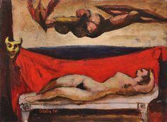 JOSEF LIESLER (1912 - 2005), SNĚNÍ | Galerie Arcimboldo