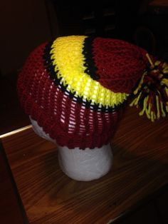 ColorfulToboggans Hand-knitted Hat, Fits Most #NA