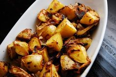 Weight Watchers Laaloosh Roasted French Onion Potatoes- only 3 points plus per serving!!! #weightwatchers #healthandfitness