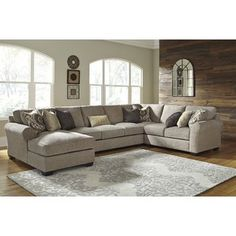 Craftmaster F9 Design Options Customizable 3 Piece Sectional With Laf Cuddler Sectionals